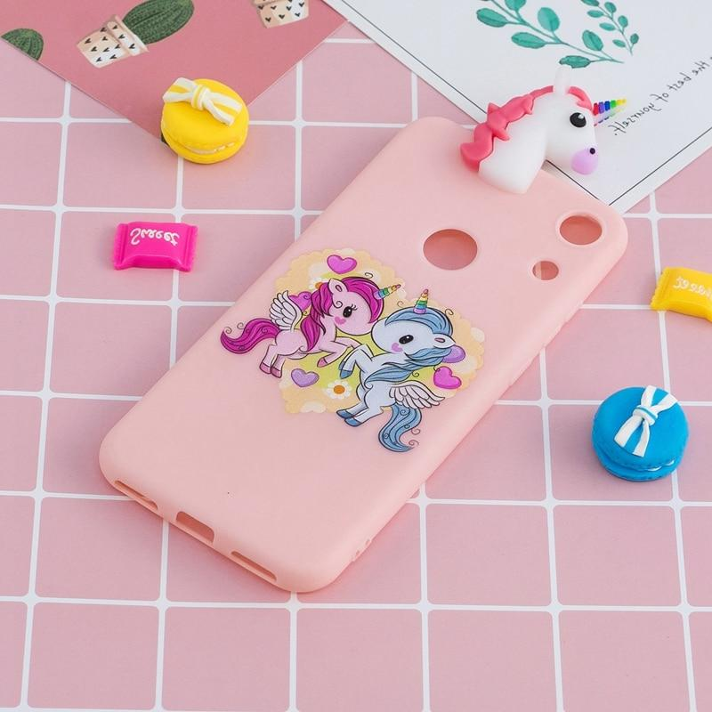 For Coque Huawei 8A Cartoon Cover For 8A Honor8a