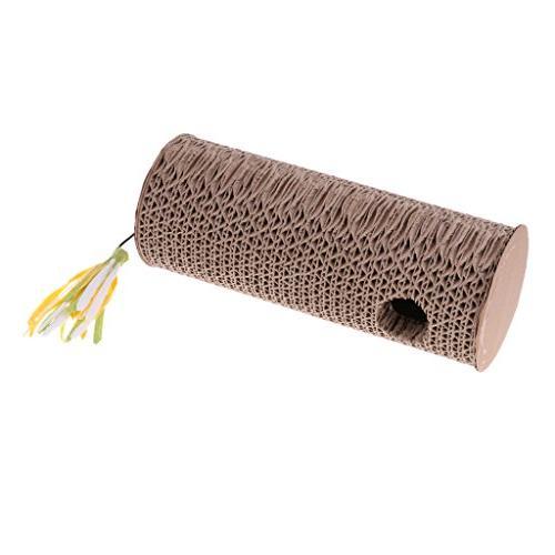 corrugated paper cat scratch post
