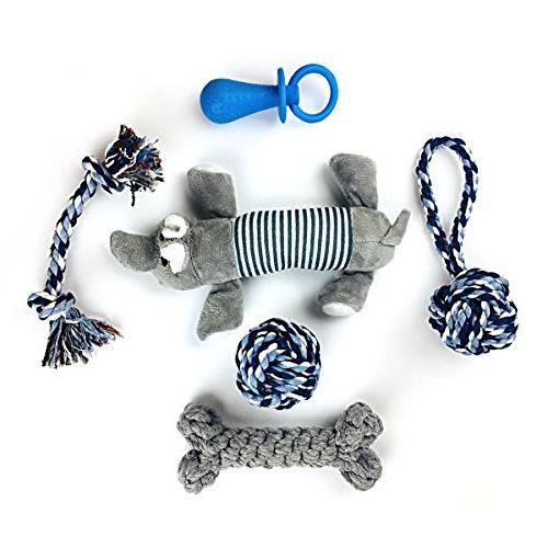 cotton dog chew toys