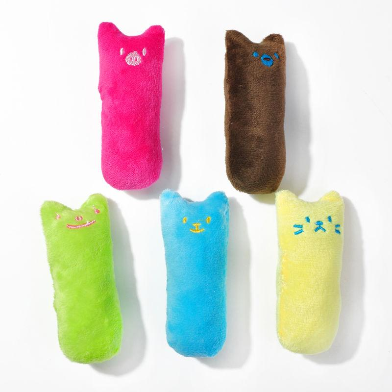 Creative Pillow Scratch Crazy Cat Teeth Grinding Toys