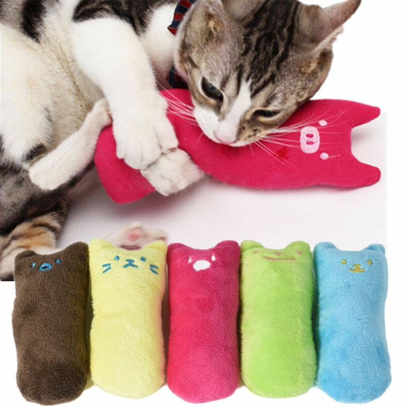 creative pillow scratch crazy cat kicker catnip