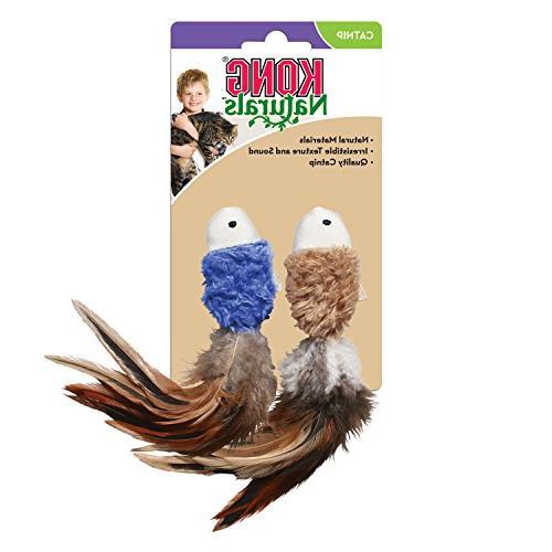 KONG Naturals Catnip Toy, 2-Pack