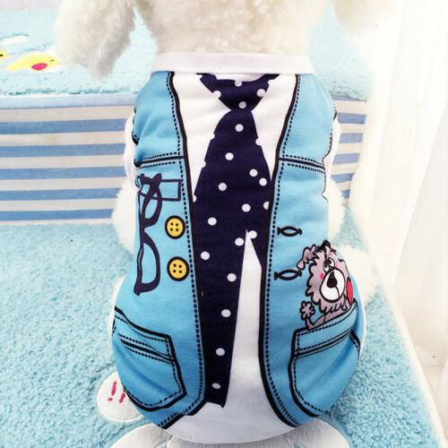 Cute Small Apparel Vest Puppy Coat Clothes Vest