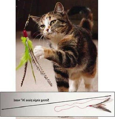 da bird feather teaser cat toy choose