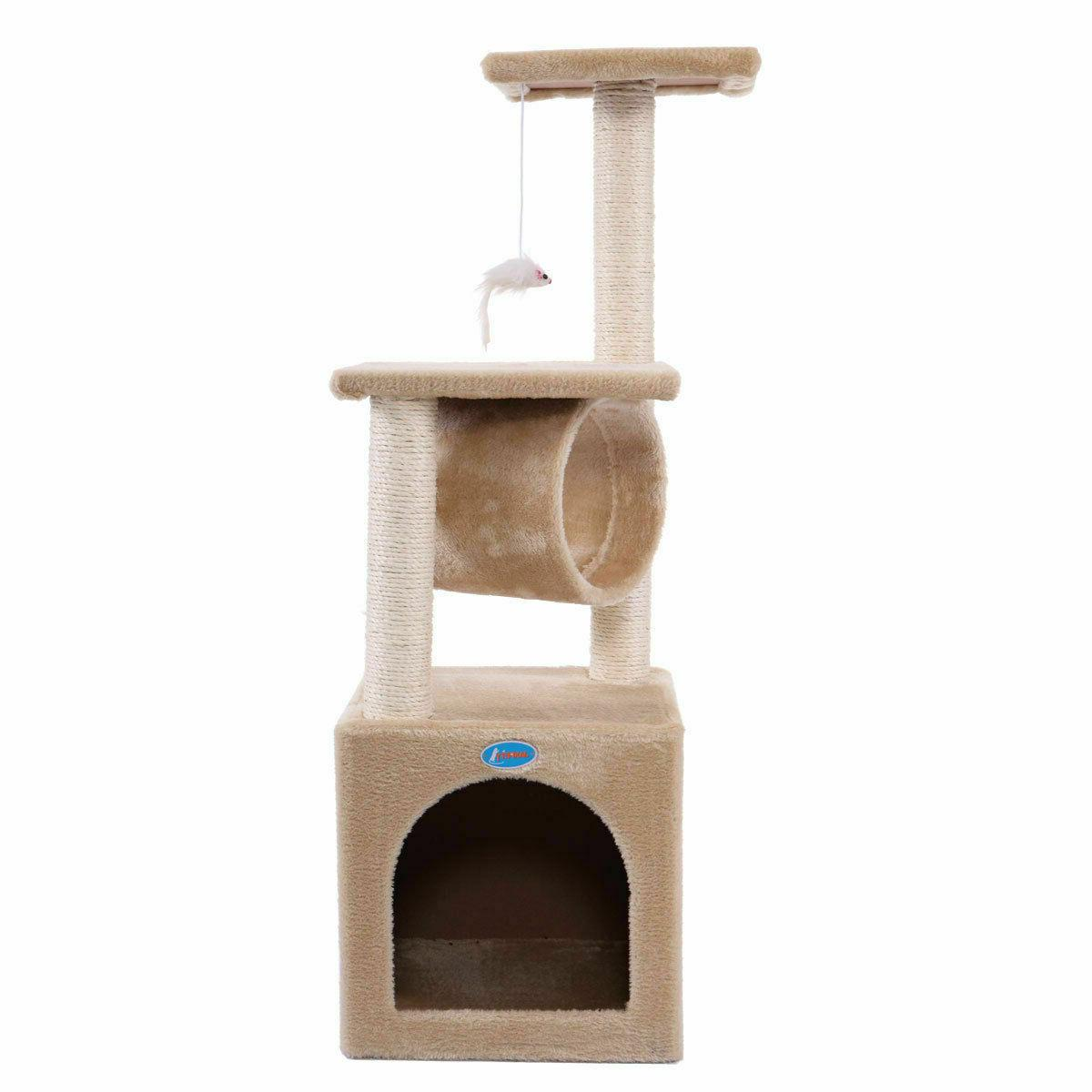 Deluxe Cat Condo Furniture Kitten House with