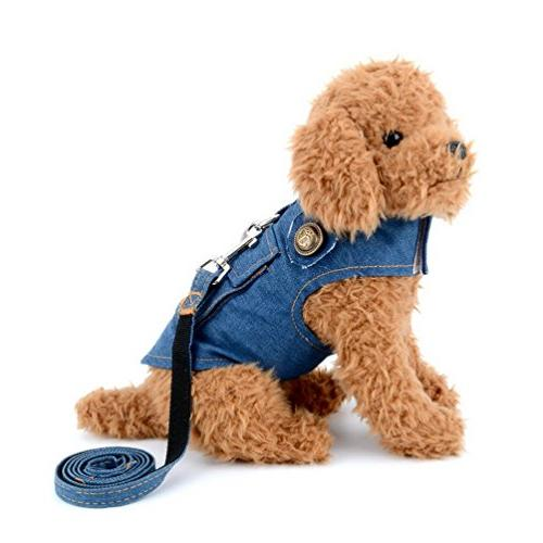 denim vest harness
