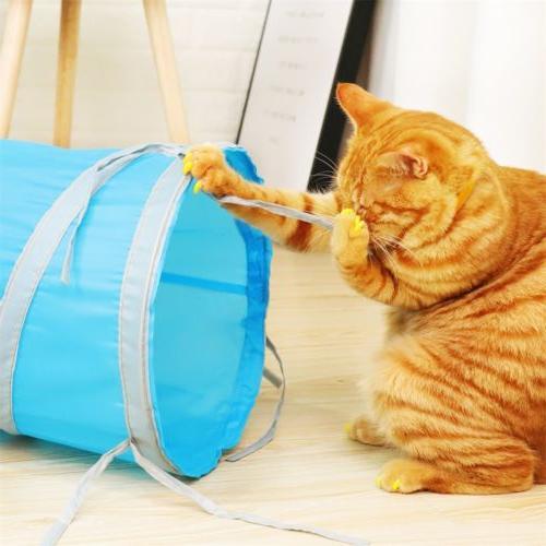 Dia Pet Tunnel Ways Shape Kitten Funny Toys Tube