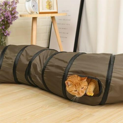 Dia Cat Tunnel 3 Shape Puppy Toys Collapsible Tube