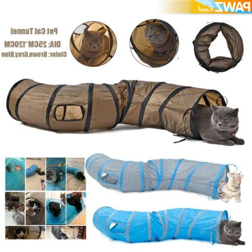 dia 10 pet cat tunnel 3 ways