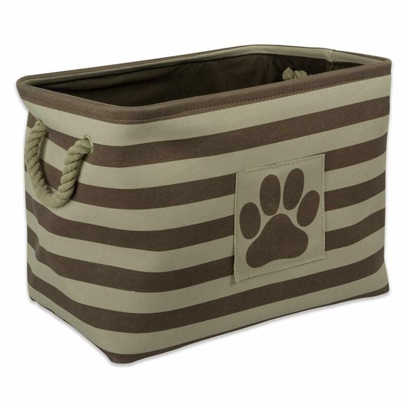 Bone Dry Round Pet Toy and Accessory Storage