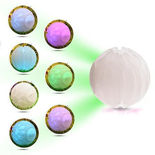 dog ball glow balls pet