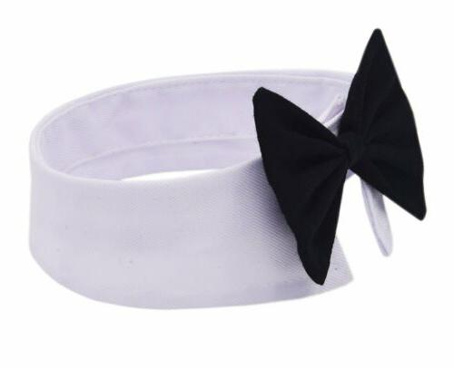 Dog Puppy Toy Bow Necktie Clothes Black Kitten Tie