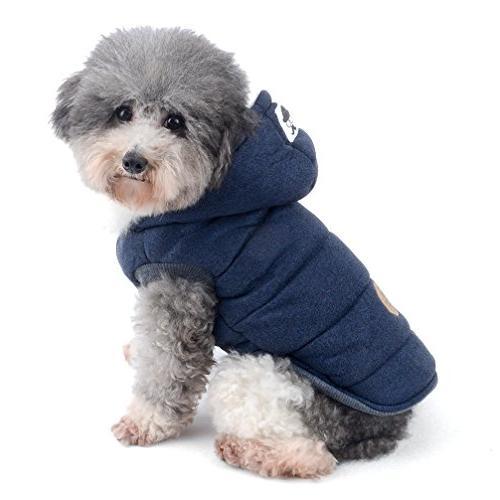 dog winter fleece coat cold