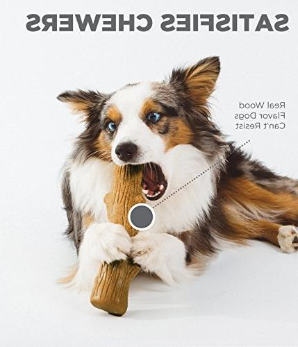 Dogwood Real Wood Medium and Durable Toy by Petstages, Medium