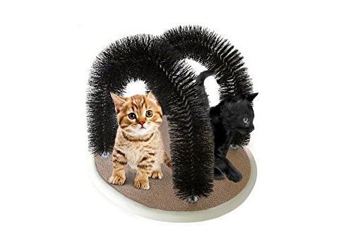 Petories DOUBLE Cat With Deshedding, Massaging Your Cats