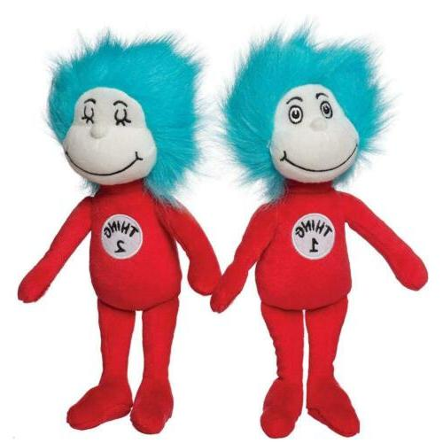 dr seuss thing 1 and 2 plush