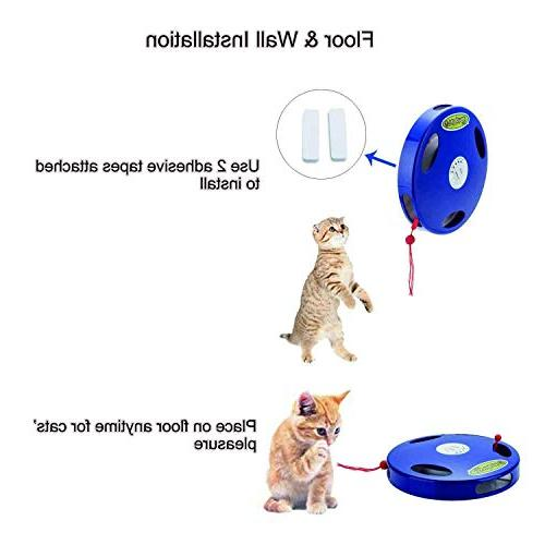 SunnyOn Electric Stress Relief, 5 Modes via Manual, Floor Wall Installation, Tasseled Tail