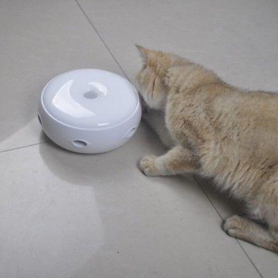 Electric Cat Teaser Kitten Rotating