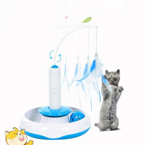 Electric Rotating Funny Cat Teaser