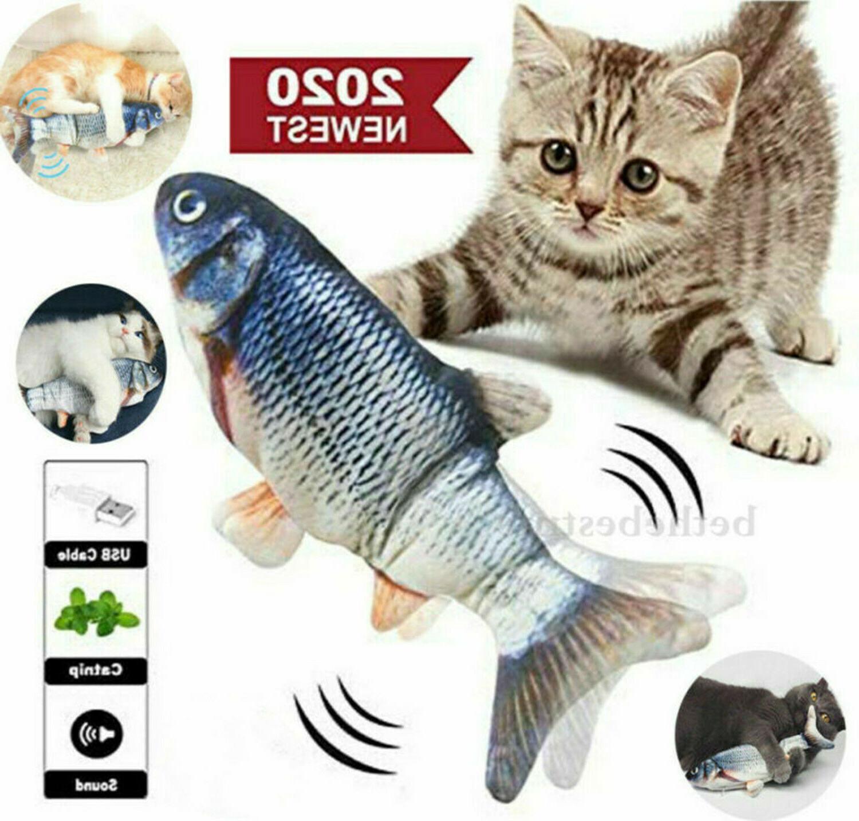 Electric Realistic Interactive Fish Cat Kicker Crazy Dancing