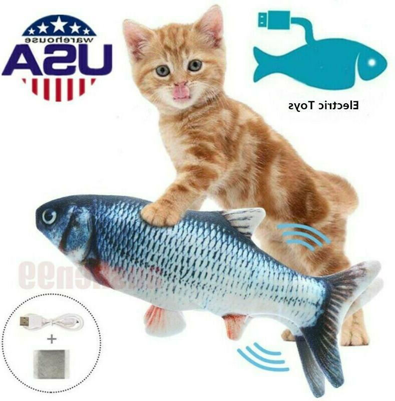 electric realistic interactive fish cat kicker crazy