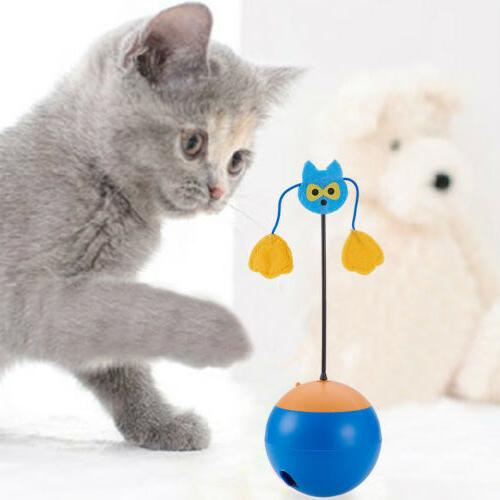 Electric Interactive Chaser Food Dispenser for Cats