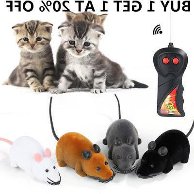 Electronic Remote Control Rat Mouse Toy Cat Dog Kid Prank Ch
