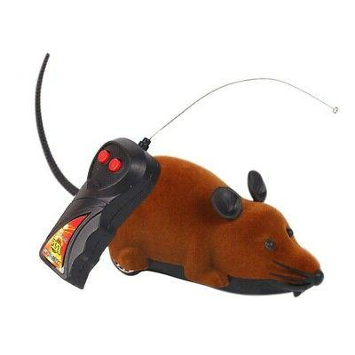 Pet Cat Control Fake Mouse Prank Wireless