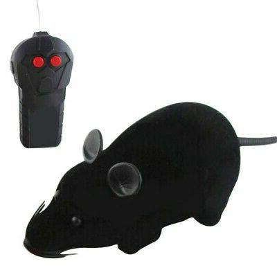 Pet Cat Dog RC Wireless Remote Control Toy Fake Mice Mouse P