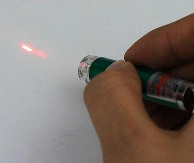 Fashion 2 Red Laser Pointer Pen White LED Cat Toy