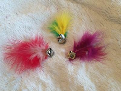 ***FEATHER BELL*** Cat Jingle bell Cats pack