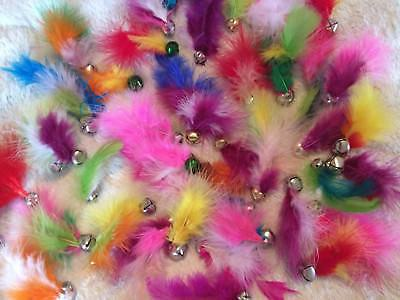***FEATHER Toys!!! Jingle w/Feather Cats pack