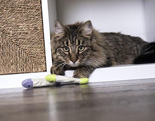 SmartyKat Flop Cat Toy Crinkle 3
