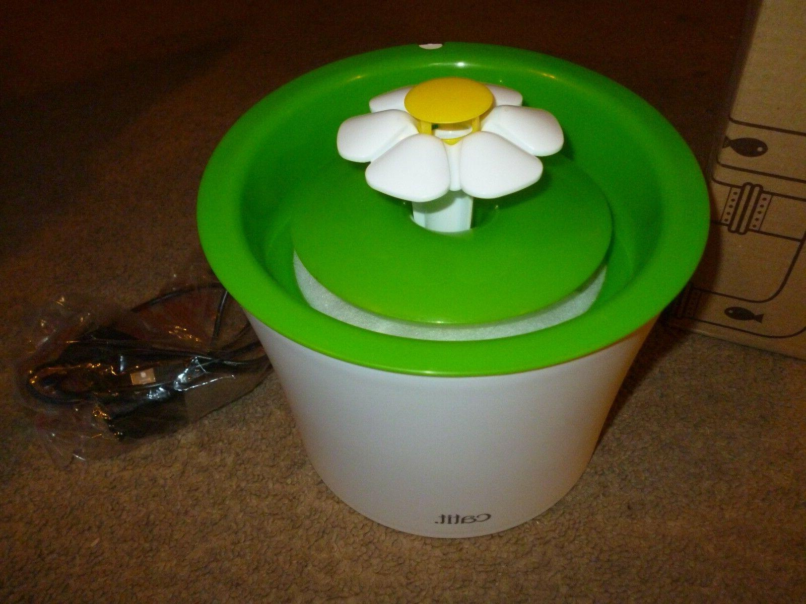 flower fountain 3l drinking fountain with triple