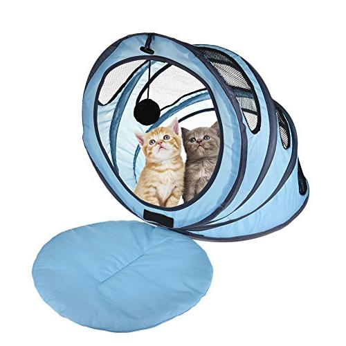 foldable cat tunnel pet toy