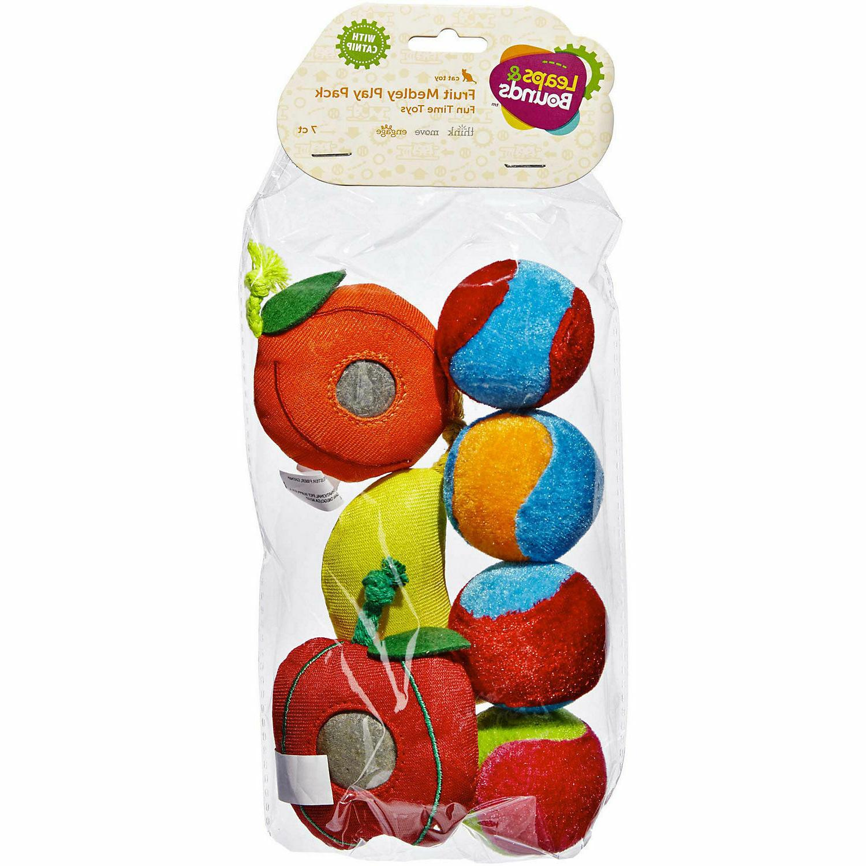 fruit cat toy variety