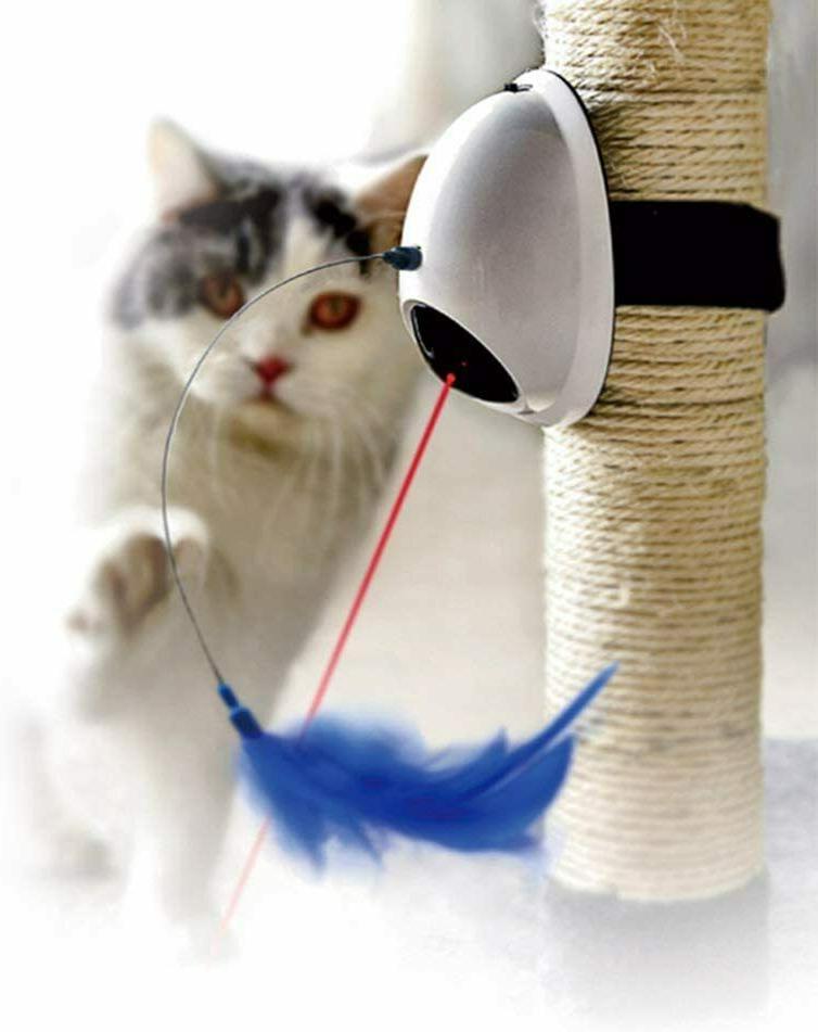 Fun Laser Interactive Toys Automatic Kitten W/