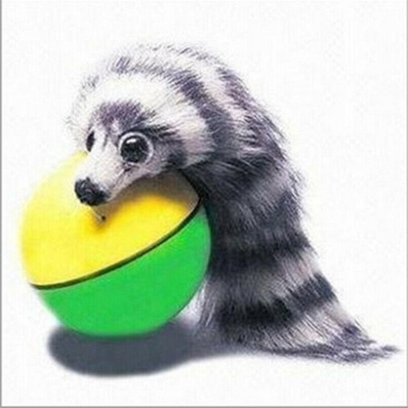 Dog Cat Weasel Motorized Funny Rolling Ball Pet Appears Jump
