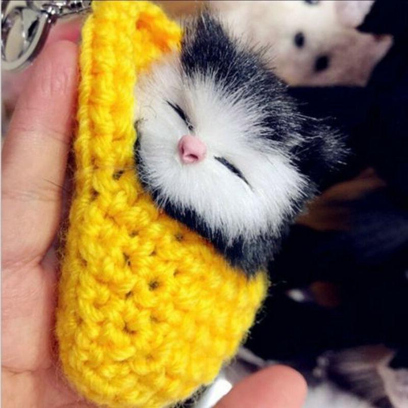 Funny Plush Cat Doll Toys Simulation Toys