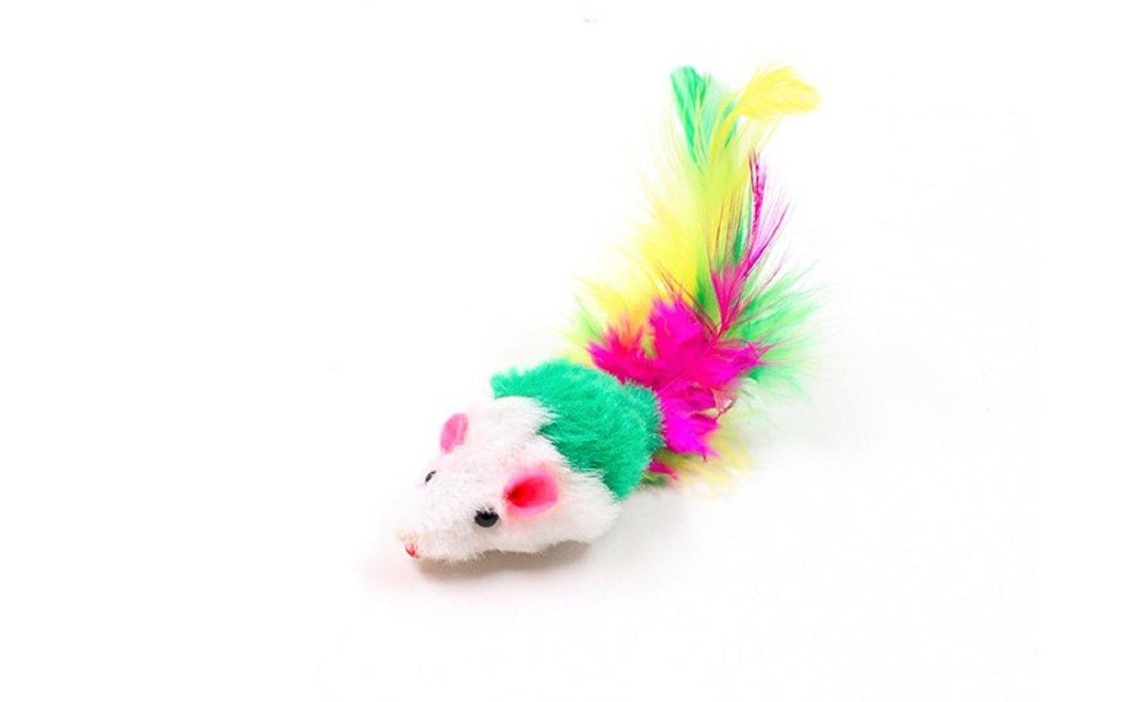 Fur Cat Toys, Soft Play Catnip for 10