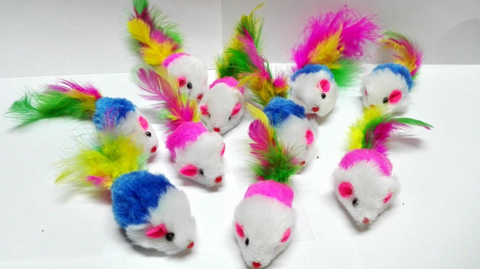 fur mice cat toys soft and durable