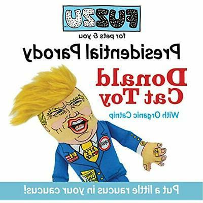 Fuzzu Presidential Or Cat Toy Trump Non-Toxic Cotton