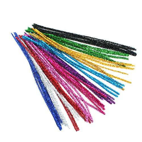 glitter chenille stems pipe cleaners
