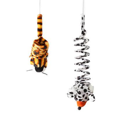 hanging bouncy cat toys set of 2
