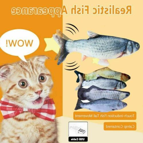 Hot Electric Pet Cat Toy Wagging