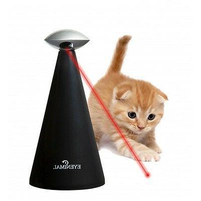 Laser Light Cat Toy Automatic Interactive Pet 3 Speeds Eyeni