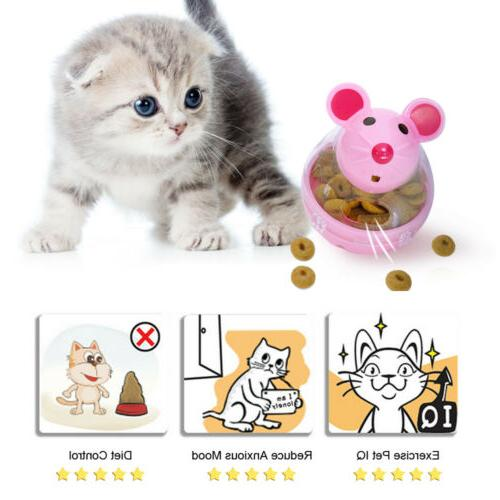 Interactive Cat Mouse Shaped Dispenser Ball Toys