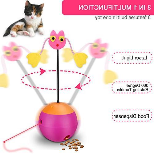 Yofun Cat 3 Function Cat Toy Ball Dispenser Kitty