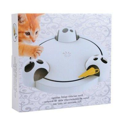 Interactive Cat Toy Mouse Seek Automatic Mice Catch USA