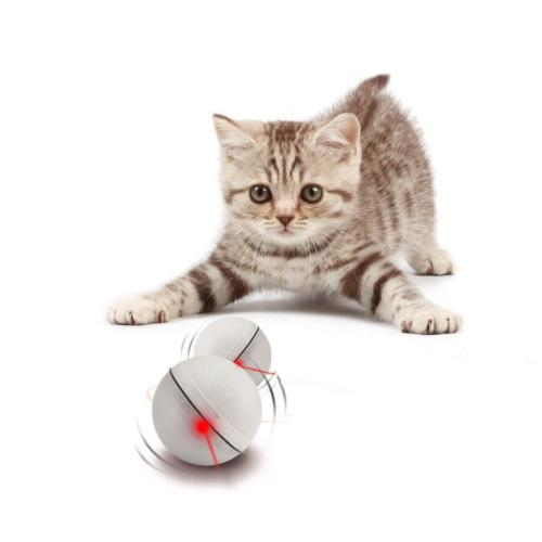 interactive cat toy self rotating